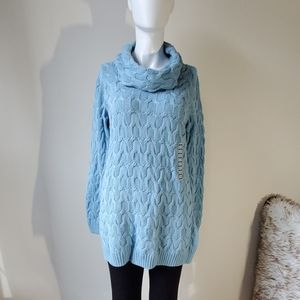 NWT cowled tunic long sleeved